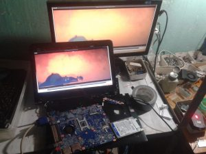 service laptop sony vaio