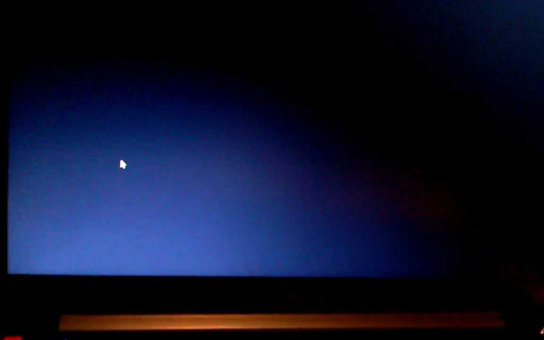 Tutorial cara mengatasi layar hitam pada windows 7