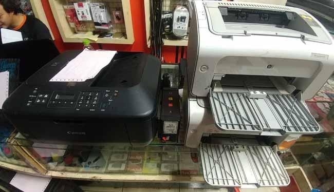 Jasa service printer lampiri
